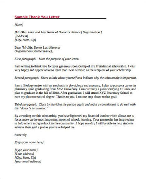 Thank You Letter For Donation For School Sle Thank You Letter For Donation 10 Exles In Word Pdf