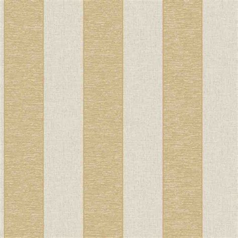 Retro Kitchen Wall Stickers fine decor torino striped wallpaper beige gold fd40080