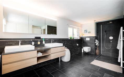badezimmer öag badezimmer schwarz forrerbau ag