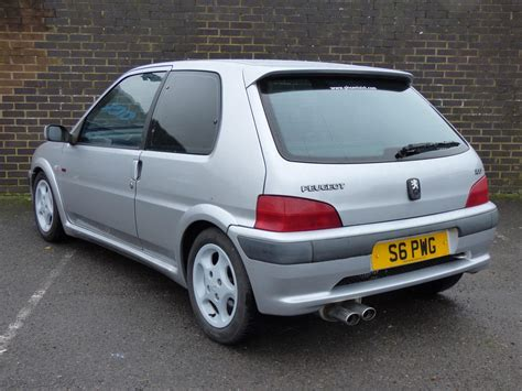 used peugeot 106 used 1998 peugeot 106 gti 16v for sale in west sussex