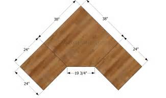 Corner Desk Blueprints How To Build A Corner Desk Howtospecialist How To Build Step By Step Diy Plans