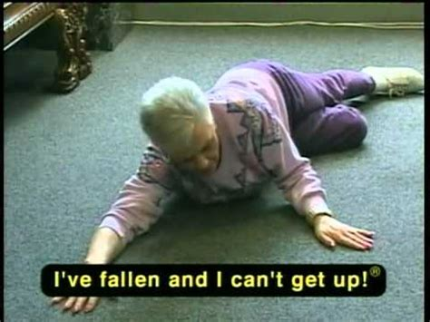 Life Alert Lady Meme - i ve fallen and i can t get up youtube
