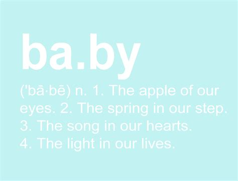 Baby Shower Dictionary by Digital Baby Definition Baby Gift Baby Shower