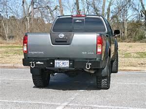 Nissan Frontier Bumpers 2005 2016 Frontier Rear Bumper With Integrated Receiver Hitch