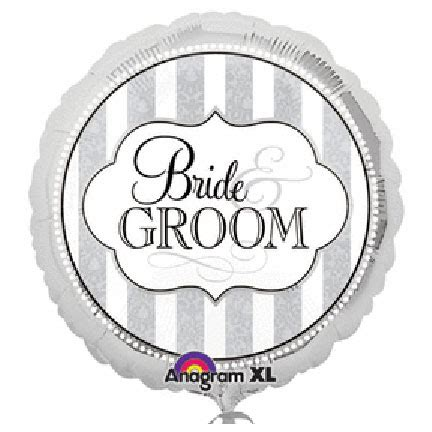 Balon Foil And Groom For Wedding Bridal Shower Balloon bulk bridal shower mylar balloons supplies the
