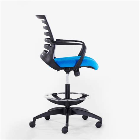 draughtsman chair with casters barrier honeycomb draughtsman chair officescene
