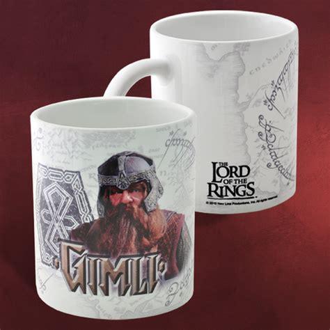Mug Keramik Tema Karakter Spesial gimli herr der ringe tasse the lord of the rings