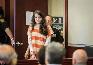 Handcuffed On Way To Court by Shayna Hubers Jailed For Killing Poston Who Dumped