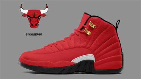 house of air today s concept air jordan 12 bulls house of heat