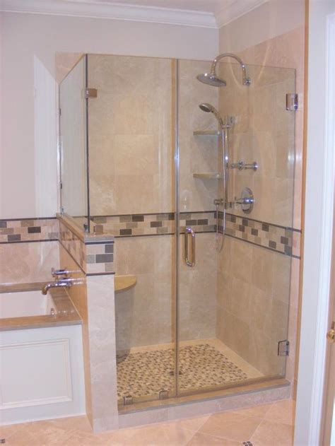 Tiled Corner Shower Stalls Decorating Image Mag Ceramic Bathroom Remodel Shower Stall