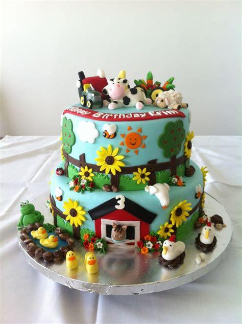 Farm Cake   CakeCentral.com
