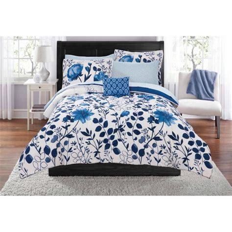 mainstays kamala bed in a bag coordinating bedding set walmart