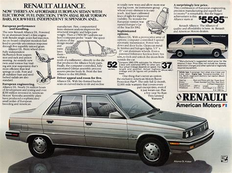 1985 renault alliance renault alliance image 91