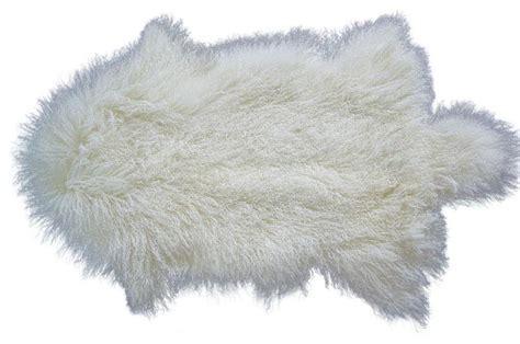 fur rug tibetan fur rug contemporary area rugs by curly