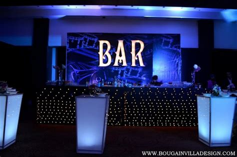 coolest decorations the coolest bar decor ideas for your cocktail wedmegood