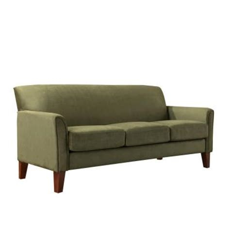 homesullivan microfiber sofa 409913sg 3tl sofa the