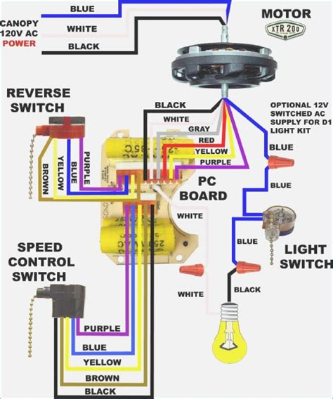 wiring diagram for ceiling fan pull switch wiring