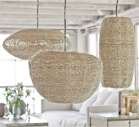 andrew apple saucer and cigar jute pendants