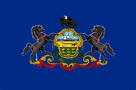 of pennsylvania colors file flag of pennsylvania svg wikimedia commons