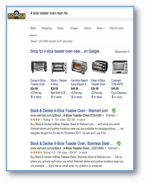 Toaster Oven Near Me How Trust Unique Identification Impact Semantic Search