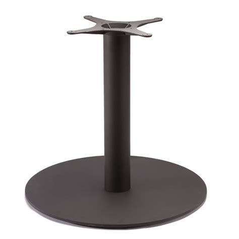 metal table l bases turno 30 black table base tablebases com quality table