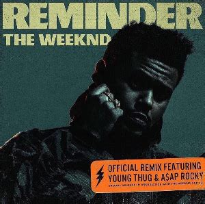 the weeknd wiki reminder song wikipedia