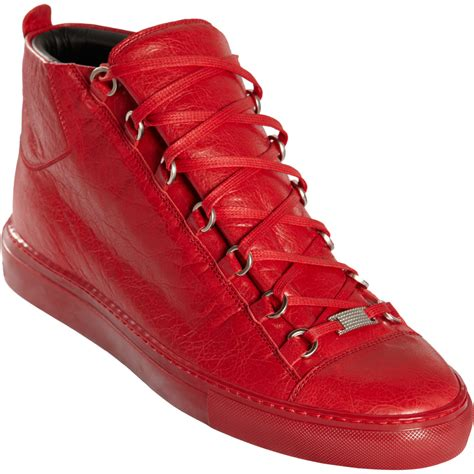 mens balenciaga arena sneakers balenciaga arena sneakers balenciaga arena leather