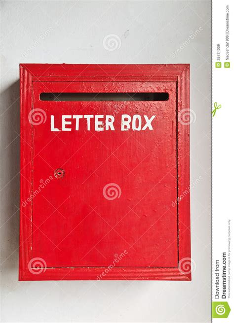 Of Letter Box Letter Box Formal Letter Template