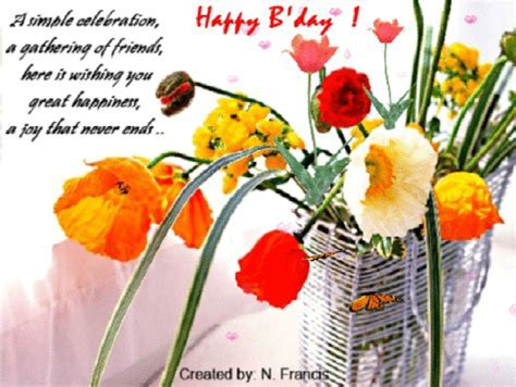 A Simple And Elegant Wish  Free Birthday Wishes eCards