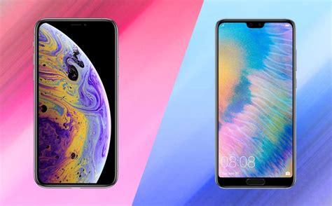 comparativa iphone xs vs huawei p20 pro