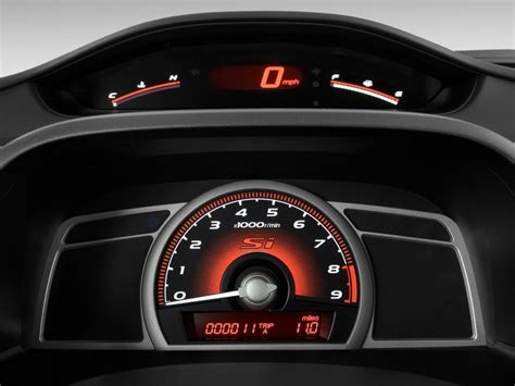 automotive service manuals 2010 honda civic instrument cluster image 2010 honda civic sedan 4 door man si instrument cluster size 1024 x 768 type gif