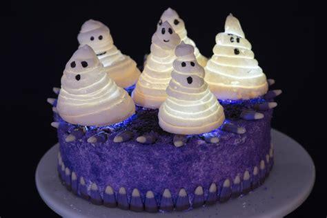 haunted ghost cake flourish king arthur flour