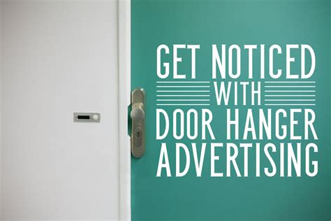 Door Knob Advertising by Increase Your Business Local Impact With Printable Door