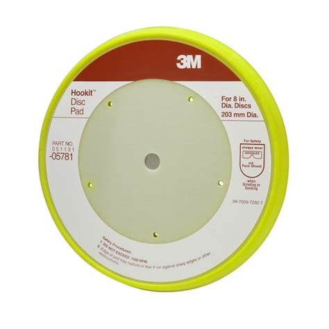 what color are you m i a pads 3m 05781 hookit hook loop disc pad 5 mounting holes