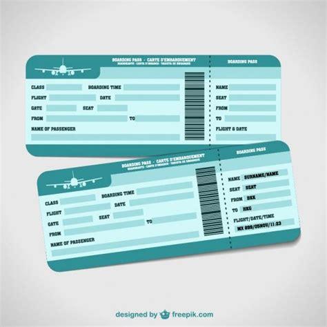 e ticket templates free dise 241 ado por freepik cositas vector free