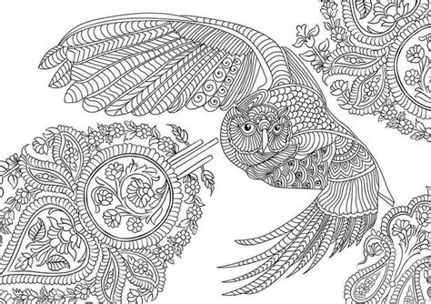 wonderful owls coloring book for adults and stress reduction combining nature poetry and for relaxation meditation and creativity volume 2 books pin by stonie weinberg on malbilder ausmalbilder