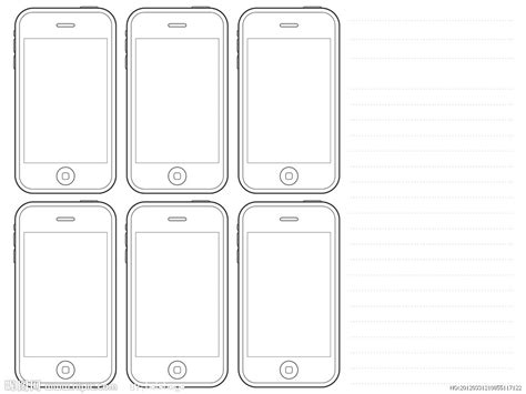 iphone html layout iphone手机原型图源文件 其他 psd分层素材 源文件图库 昵图网nipic com