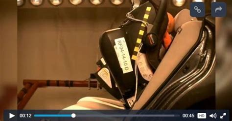 best rear facing 1 car seat study rear facing child seats can cause injuries