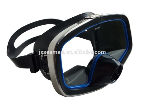 Mask Problue Rubber Snorkeling Nose Purge classic single window rubber diving mask with purge valve scuba diving equipments underwater
