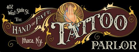 the hand of fate tattoo parlor about