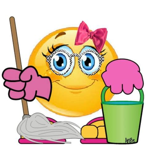 cleaning emoji limpieza emoji pinterest smiley smileys and emojis