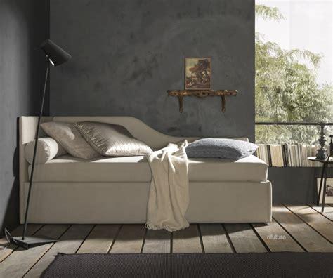 divanetto letto singolo letto singolo divanetto sagomato bz line 8 con box