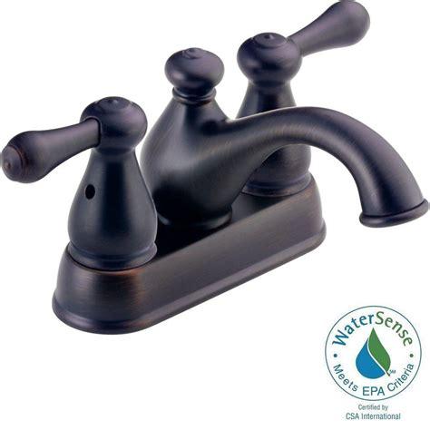 delta leland 4 in centerset 2 handle low arc bathroom