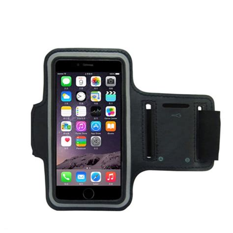 Sporty Phone Armband sports armband cover cycling running arm holder for cell phone ebay