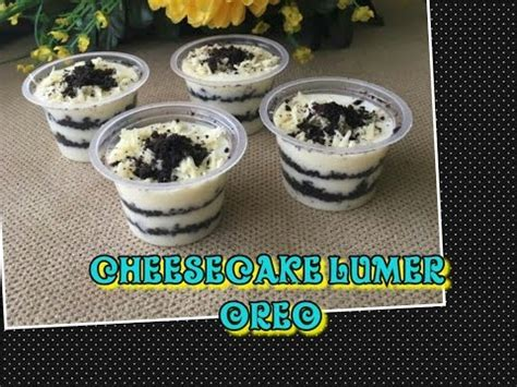 cara membuat cheese cake lumer tanpa oven resep membuat cheesecake lumer oreo doovi