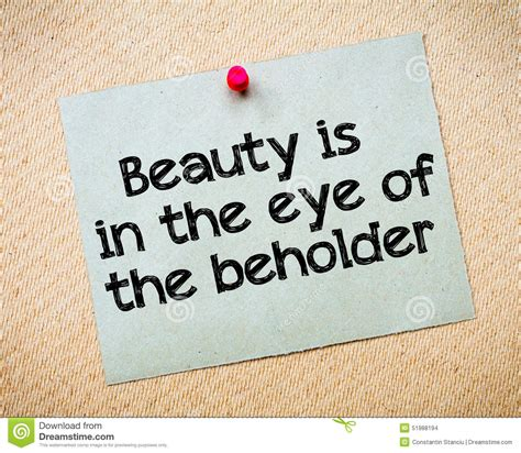 beauty is in the eye of the beholder tattoo is in the eye of the beholder stock photo image