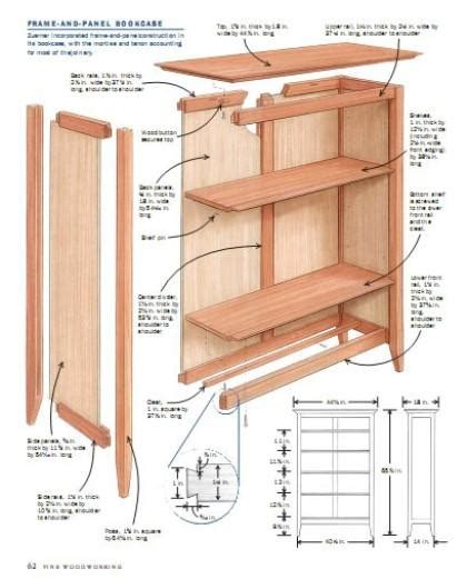 plans for wood bookcase pdf plans night stand woodworking plans 187 freepdfplans downloadwoodplans