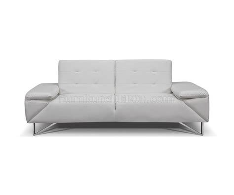 sofa bed london london sofa bed in faux leather by whiteline