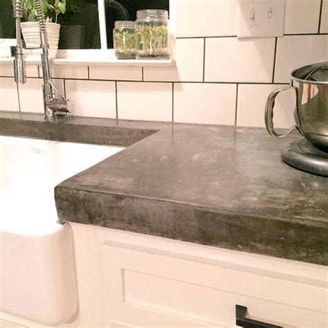 Thick Countertops by Thick Concrete Countertops Make A Statement Home