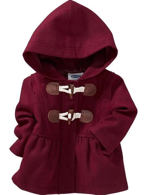 Toggle Coats For Fall by Navy Baby Fall Fashion Hooded Toggle Coat For Baby
